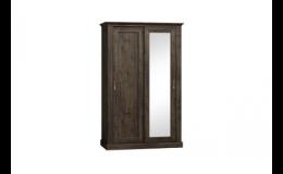 Dvoudveřové skříně do ložnice - ložnicový nábytek za nízkou cenu