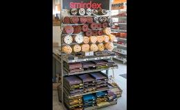 Kvalitní brusné materiály značky Smirdex Zlín