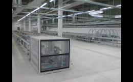 Instalace linek na výrobu elektroniky včetně elektroinstalace
