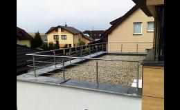 Výroba interiérového i exteriérového zábradlí a žebříků na střechy Ostrava