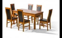 Praktické kuchyňské a jídelní stoly