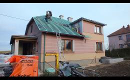 Střešní konstrukce, realizace střech Jaroměřice nad Rokytnou