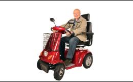 Elektrické vozíky SELVO, elektro vozíky, kolobežky a motorky umožnia pohyb v každom veku