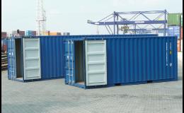 METRANS, a.s., Praha, projedn námořních kontejnerů