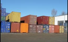 METRANS, a.s., Praha, dodávka kontejnerů v České republice i na Slovensku