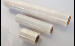 transparentní stretch fólie různé šíře - prodej Zlín