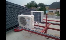 Návrh, realizace a odborný servis klimatizačních zařízení