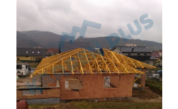 Výroba dřevěných příhradových vazníků a nosných střešních konstrukcí na klíč Brno
