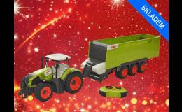 RC Traktor CLAAS AXION 870 s návěsem CARGOS 9600 2,4 Ghz 1:16