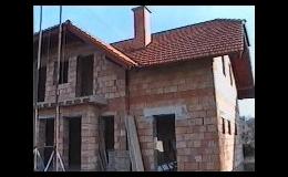 Novostavby, výstavba RD - od hrubé stavby po dokončovací práce