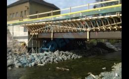 Ramenáty pro opravu a výstavbu mostů