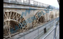Poradenství, návrhy řešení, vypracování projektu pro výrobu mostních dřevěných konstrukcí