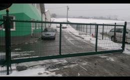 Vrata  a brány s elektrickým pohonem . rodinné domy, firemní areály