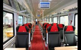Výroba sedadel pro železniční vagóny