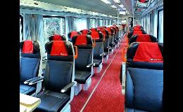 Návrh, výroba a dodávka sedadel pro vagóny