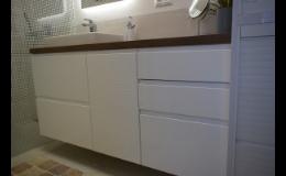 Výroba koupelnového nábytku na zakázku Brno-venkov