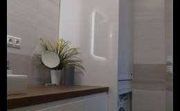 Nábytek do koupelen - moderní, rustikální, skandinávký, provence styl