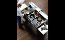 GASTROART CZ, spol. s r.o. Praha, profesionální zařízení pro kuchaře, Front cooking