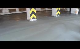 Jiří Piňos Plzeň, vyztužená betonová podlaha, polohlazená do komerčních prostor