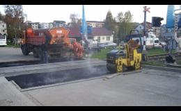 opravy vozovek asfaltovým betonem - Zlínský kraj