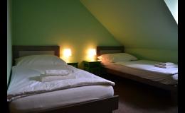Ubytování v hotelu v blízkosti historického jádra města Telč