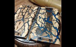 Použitý epoxid Veropal a práškové pigmenty