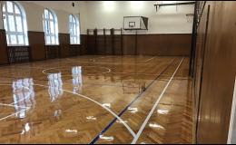Renovace parket pro domy, byty a školní tělocvičny