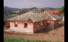 Výroba, montáž příhradových vazníků a střešních konstrukcí