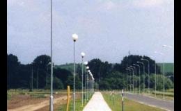 Výroba speciálních nerezových stožárů veřejného osvětlení obcí a měst