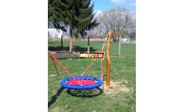 Herní prvky na dětská hřiště  - houpačka, lehátko hnízdo