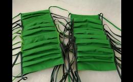 Výroba a prodej šitých bavlněných roušek