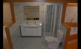 Prodej koupelnového vybavení, koupelnové studio Znojemsko