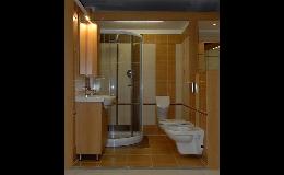Koupelnové obklady, umyvadla, zrcadla, vany, sprchové kouty - prodej koupelnového vybavení