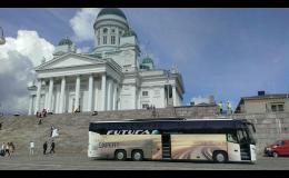 Mezinárodní autobusová doprava Brno, Jihomoravský kraj
