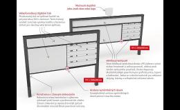 Městský mobiliář a modulární informační systém  - výroba, dodávka