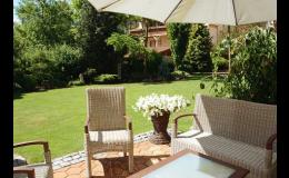 moderní zahrady - návrhy i realizace Zlín, Uherské Hradiště