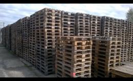 Dřevěné EUR palety B (II.) kvality, prodej za nízké ceny