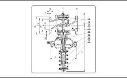 Prodej, servis redukčních ventilů pro kapaliny, plyny