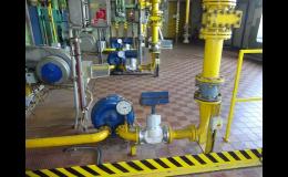 Dodávky části elektro a MaR pro plynárenská zařízení