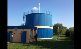 Projekty a realizace dodávek části elektro a MaR plynojemů