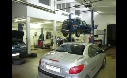 Servis a opravy osobních aut a užitkových vozidel všech značek do hmotnosti 5t a výšky 3,5 metru Svitávky, Svitava