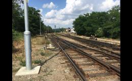 Opravy, rekonstrukce a výstavba železniční trati, výhybky, přejezdy