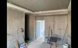 Stavební a instalatérské práce