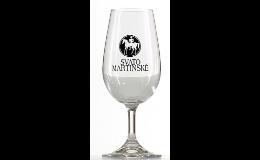 Sklenice, nápojové sklo s potiskem - výroba na zakázku