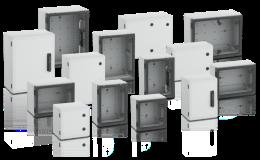 Široký sortiment spínacích skříněk různých rozměrů