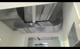 Dodávky a montáže klimatizační a chladící zařízení