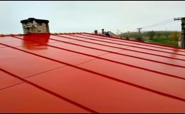 Natěračské práce - ploty, střechy, fasády