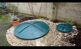 domovní čistírna odpadních vod bez akumulační nádrže