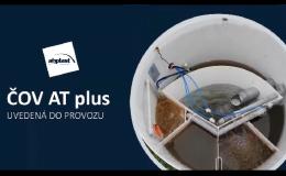 Domovní čistírna odpadních vod uvedena do provozu