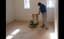 Renovace a opravy parket a dřevěných podlah